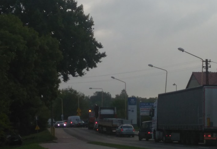 Stargard Sytuacja Na Skrzyżowaniu Gdańskiej Gdyńskiej I